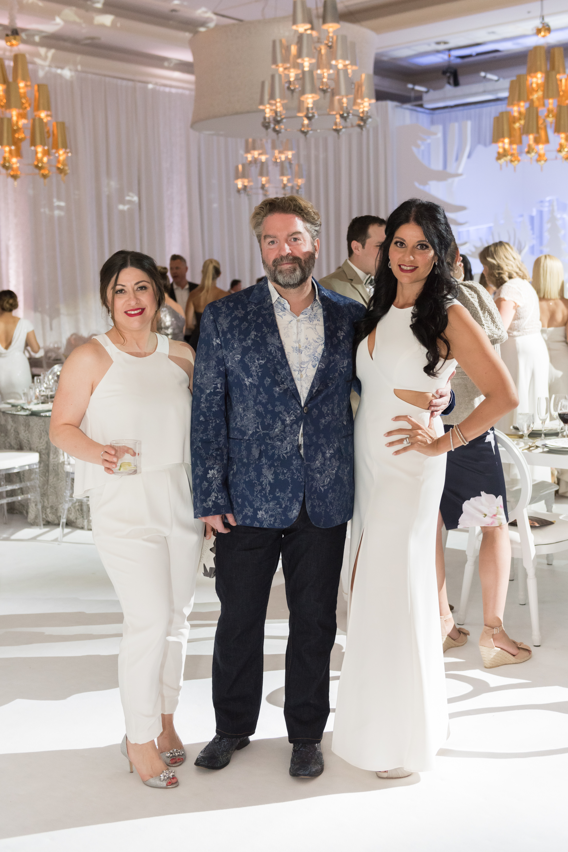 With my travel bestie Susana Diharce and artist Matthew Myhrum.  The Engage Gala in Banff Canada.  Photo by Genevieve deMaio Photography.  Creative Design by Angela Desveaux of Wedluxe.  Partners include Revelry Event Designers, Modern Luxe Rentals, West Coast Music, La Tavola Linen, Decor and More, Engineered Arts, and Designer Dance Floors,.