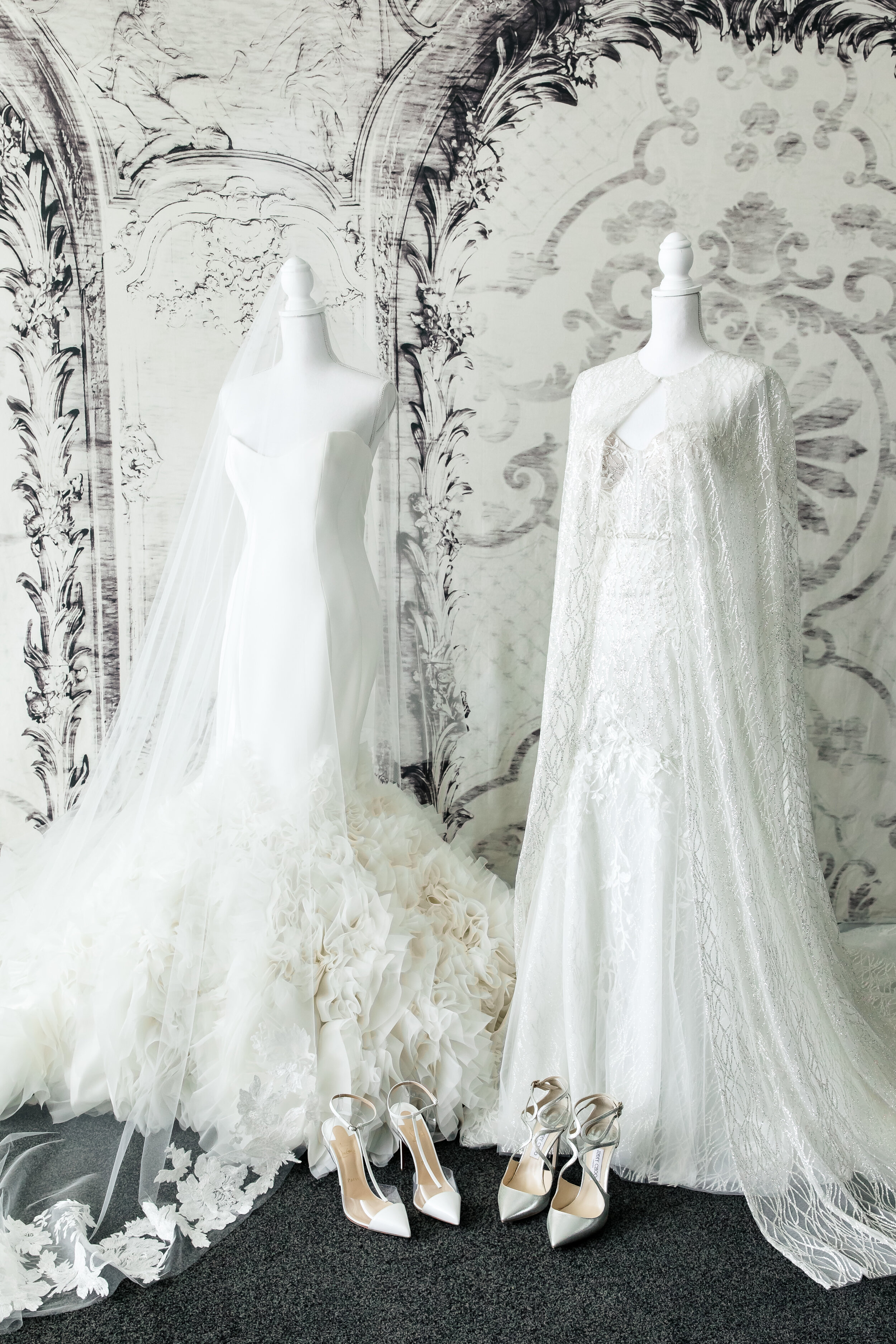 Wedding Dresses by Ines and Berta. Las Vegas Wedding Planner www.andreaeppolitoevents.com. Photo by Brian Leahy.