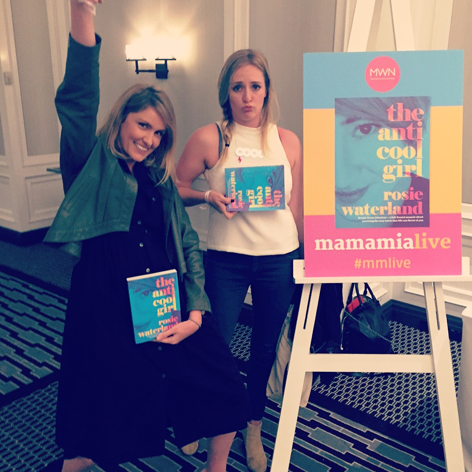 Tara and Amy from Dream & Do at the Mamamia Live event last week