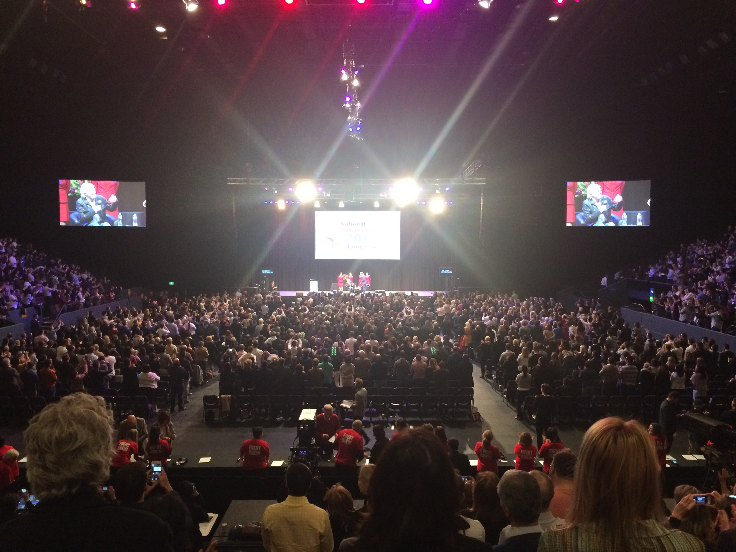 We saw Richard Branson LIVE!  Read more here...