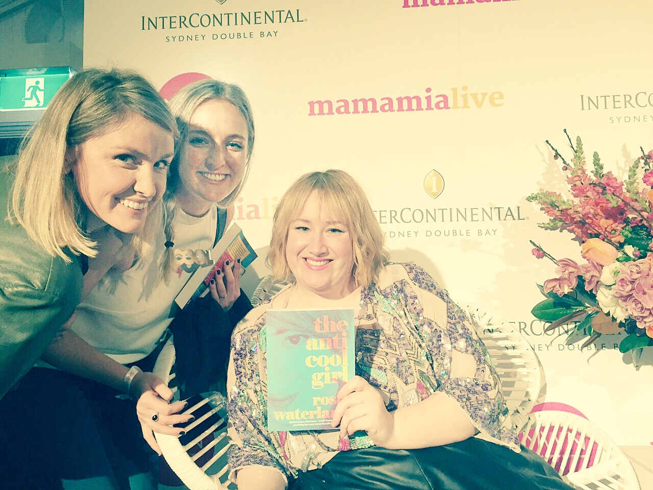 We met Rosie Waterland at Mamamia Live and totally fangirled! Read more  here...