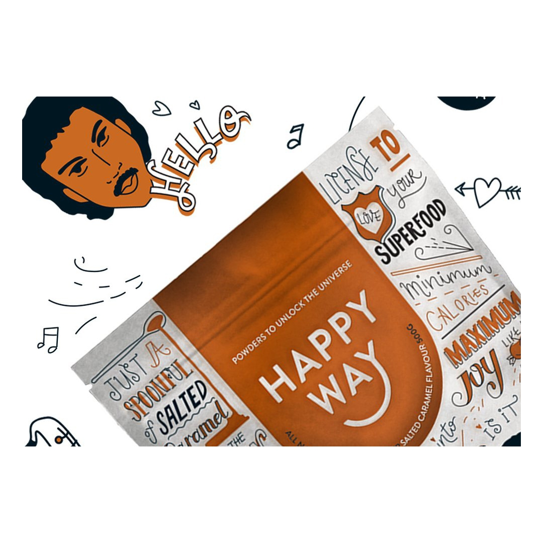 Happy Way's new flavour - Salted Caramel!