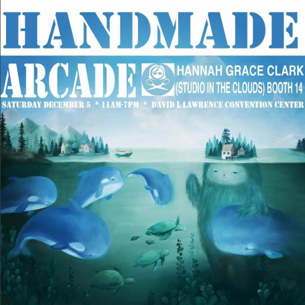 Hannah Grace Clark at Handmade Arcade
