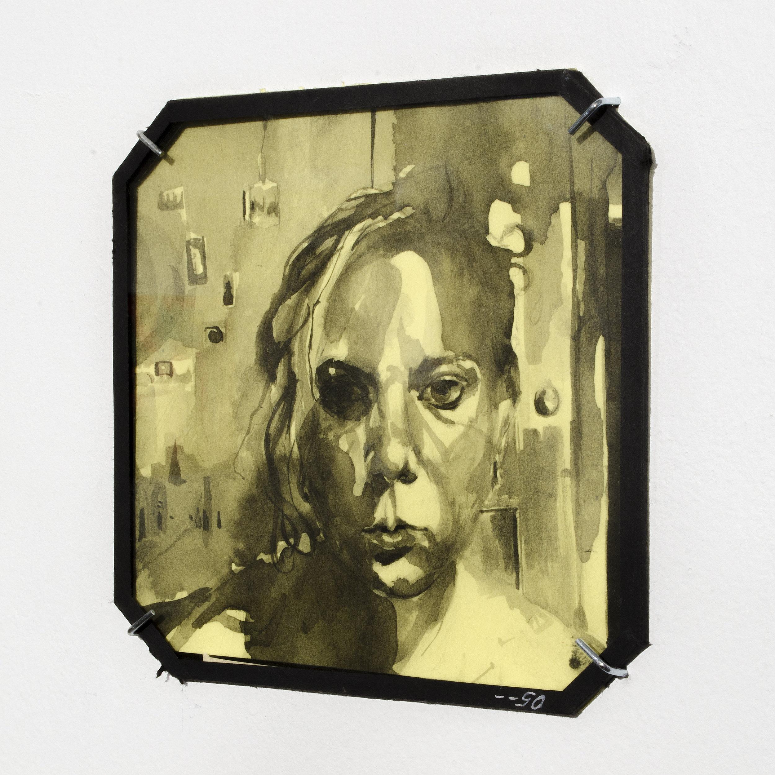"Installation Shot of ""Bedroom Window"", Glass Series"