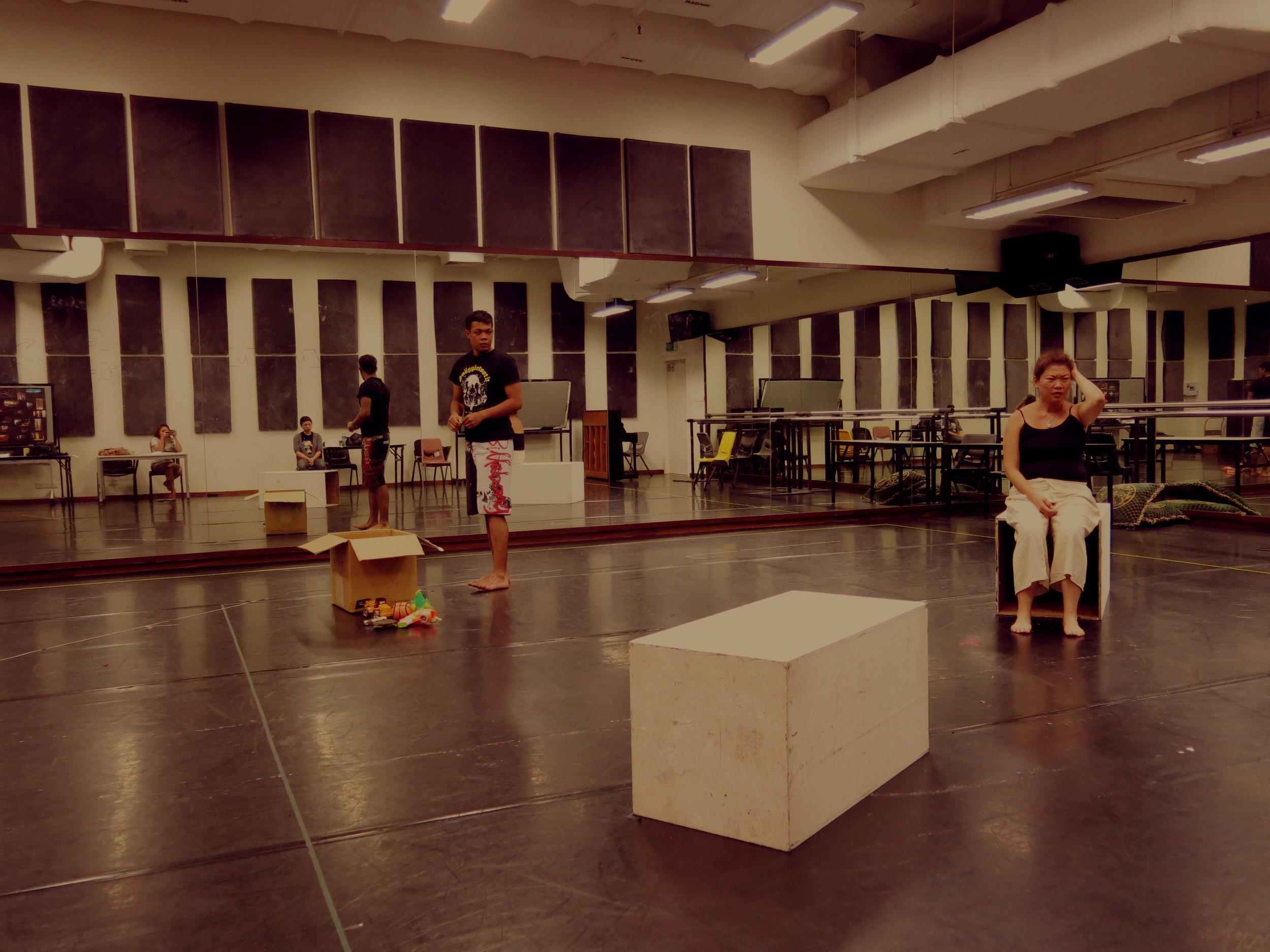 Rehearsal Studio Shots
