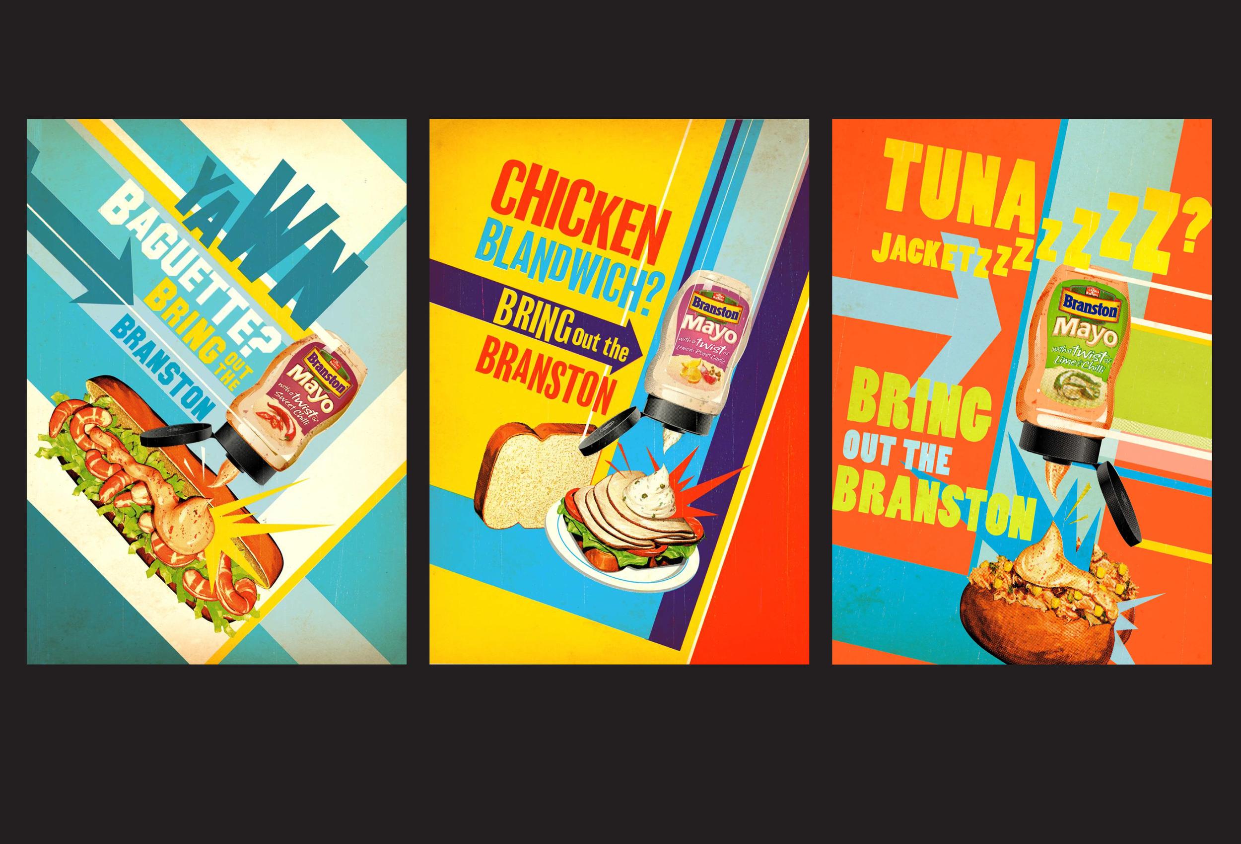 Branston - Press and digital posters