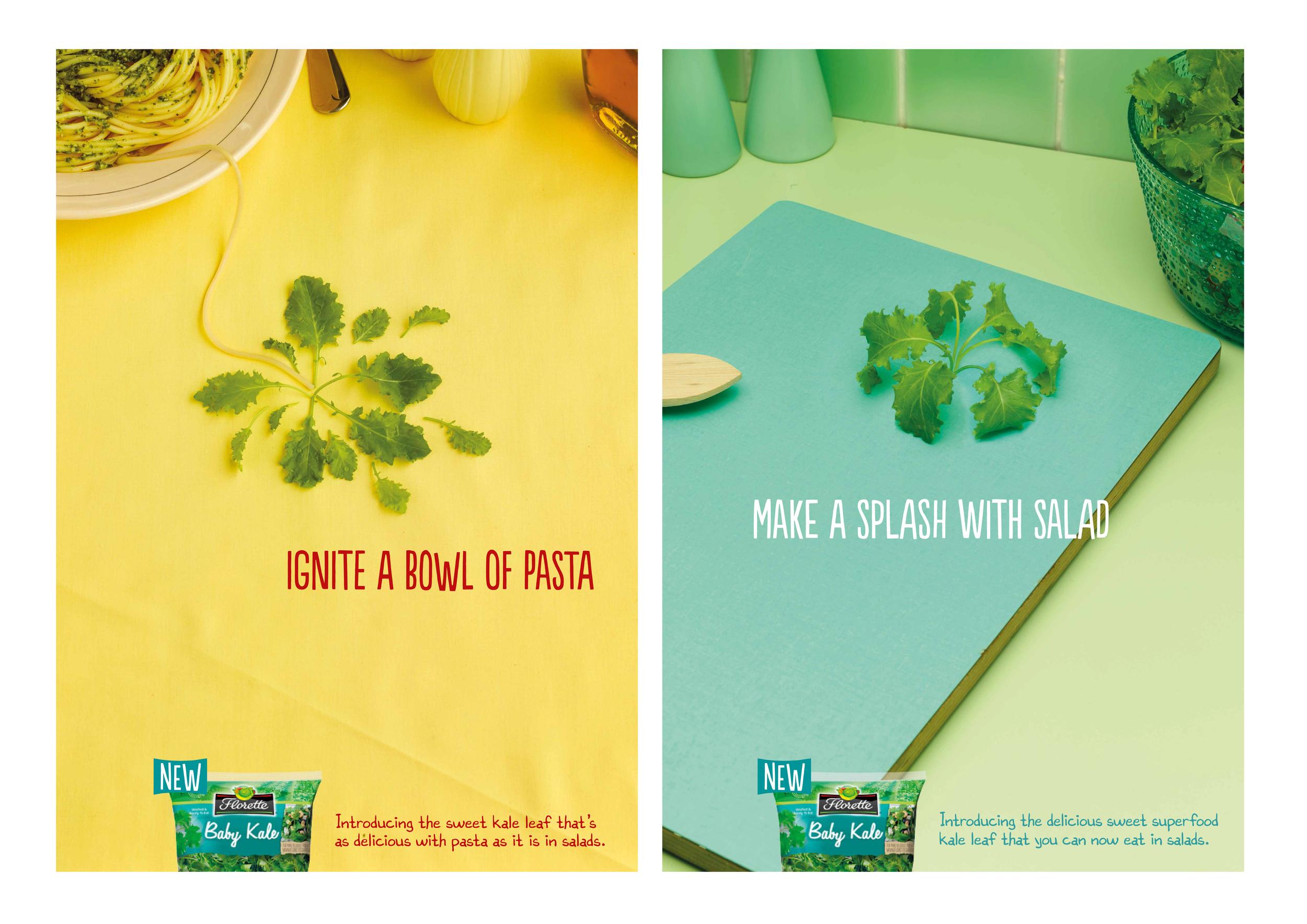 Florette - Digital posters