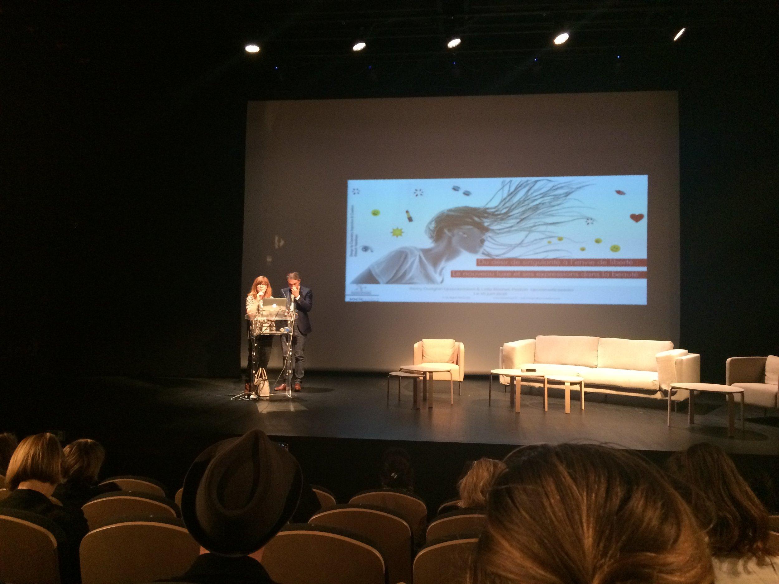 Presentation with Remy Oudghiri - 2016