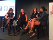 "Table ronde sur les marques ""legacy"" avec Laure de Metz (Laure deMetz-Olivier - Make Up For Ever), Nicole Masson ( Mac Cosmetics) et Trisha Ayyagari (Maybelline) modérée par Leila Rochet"