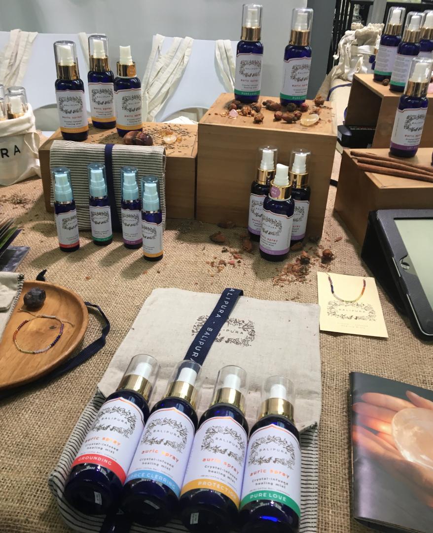 Balipura auric sprays. Credits: @Cosmetics Inspiration & Creation