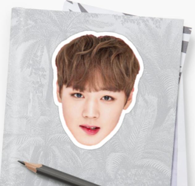 Park Jihoon for the lipbalm Innisfree x Wanna One