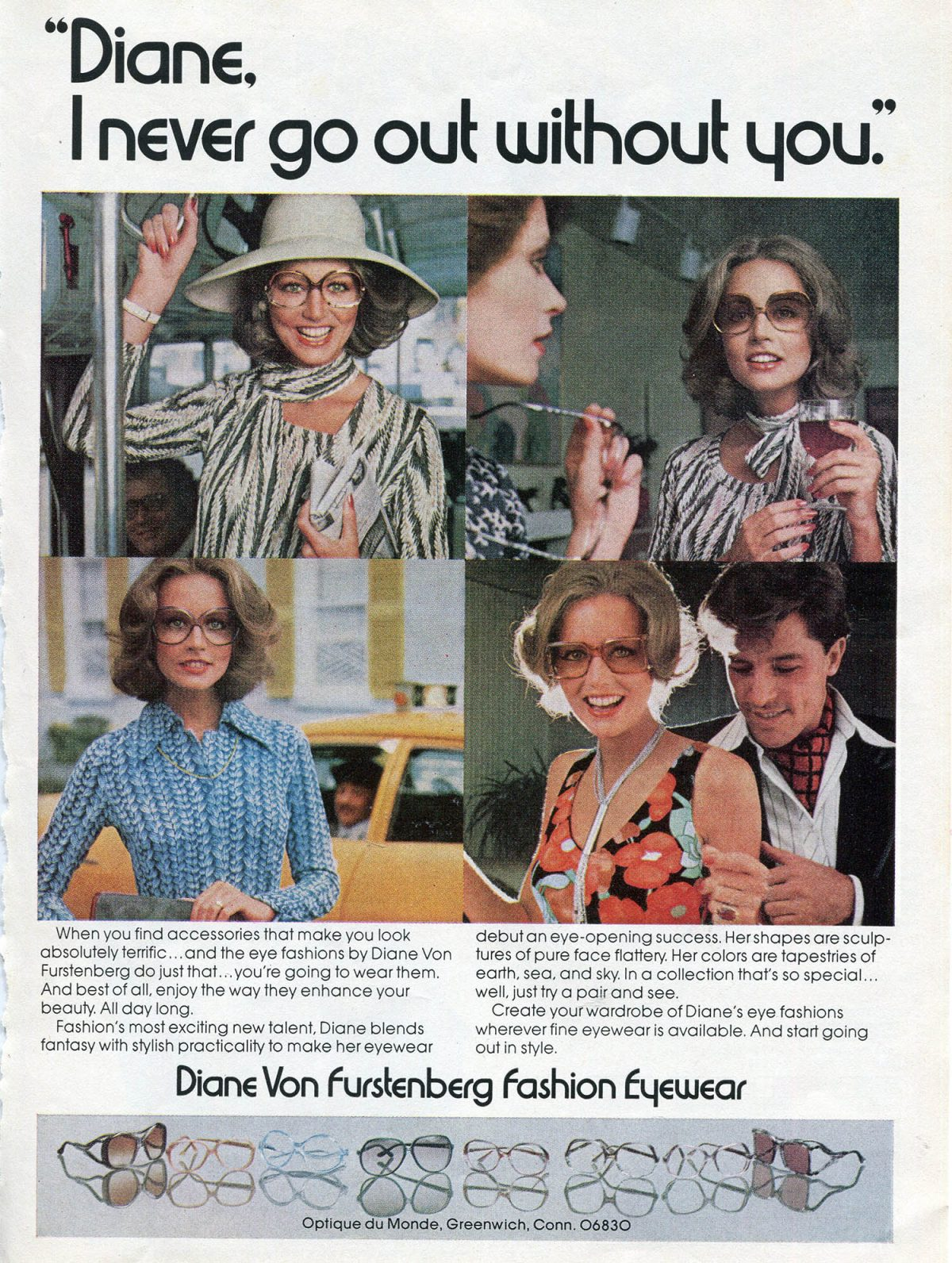 Diane Von Furstenberg campaign, 1976