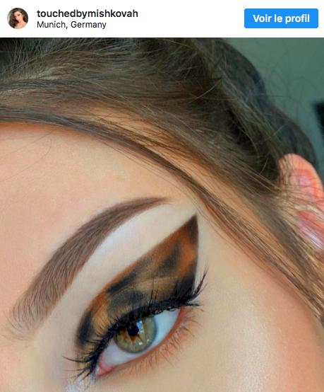 By makeup artist Marija Mišković, via Instagram.