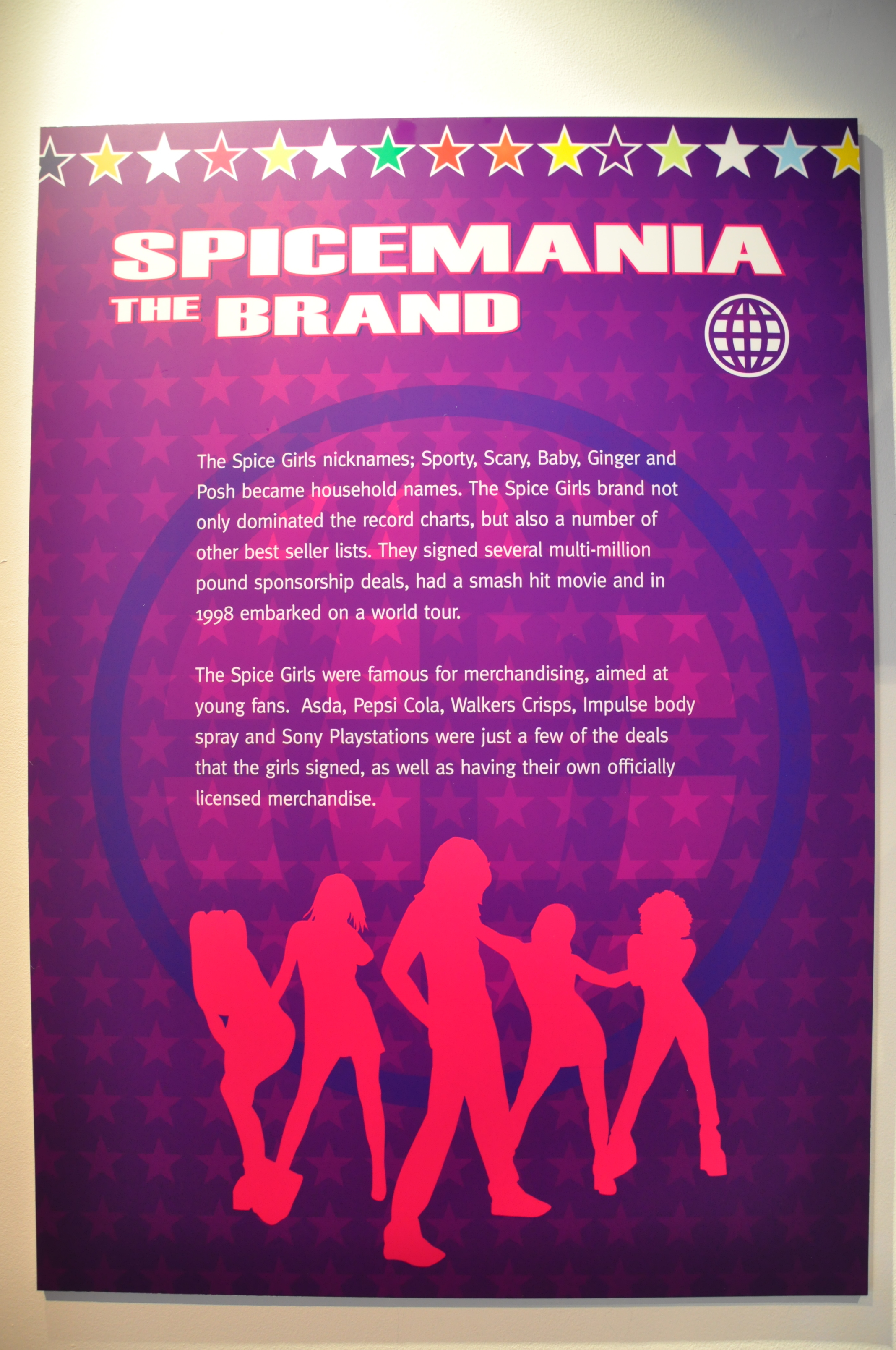 04. Spiceworld The Exhibition, Derry Londonderry, August - October 2012.JPG