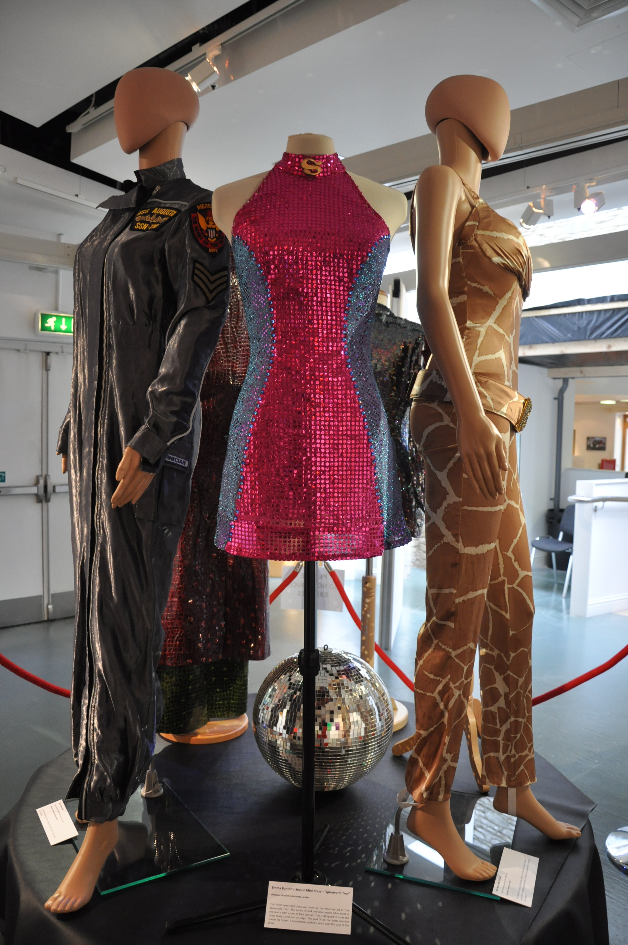 12. Spiceworld The Exhibition, Derry Londonderry, August - October 2012.JPG