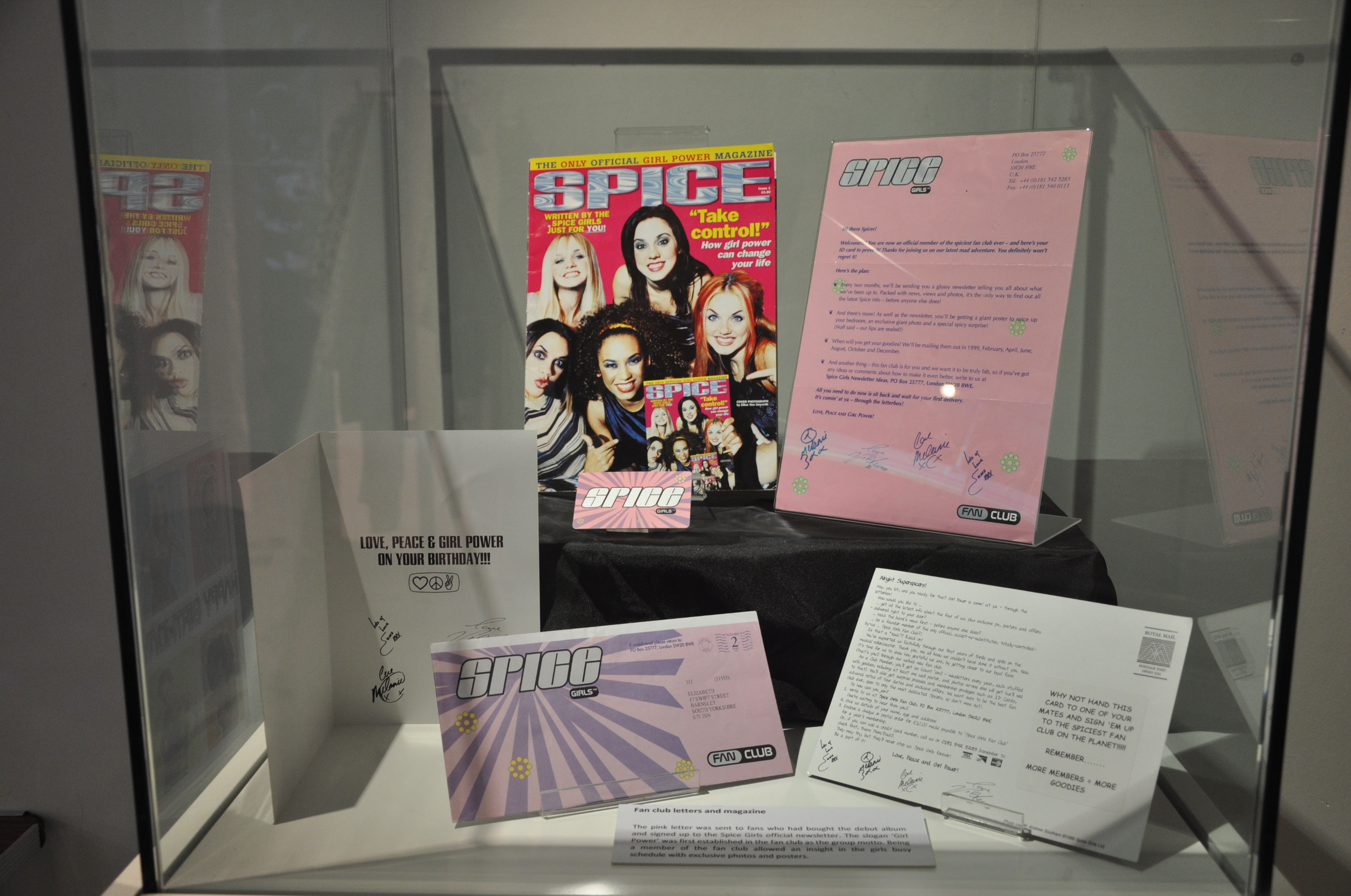 21. Spiceworld The Exhibition, Derry Londonderry, August - October 2012.JPG