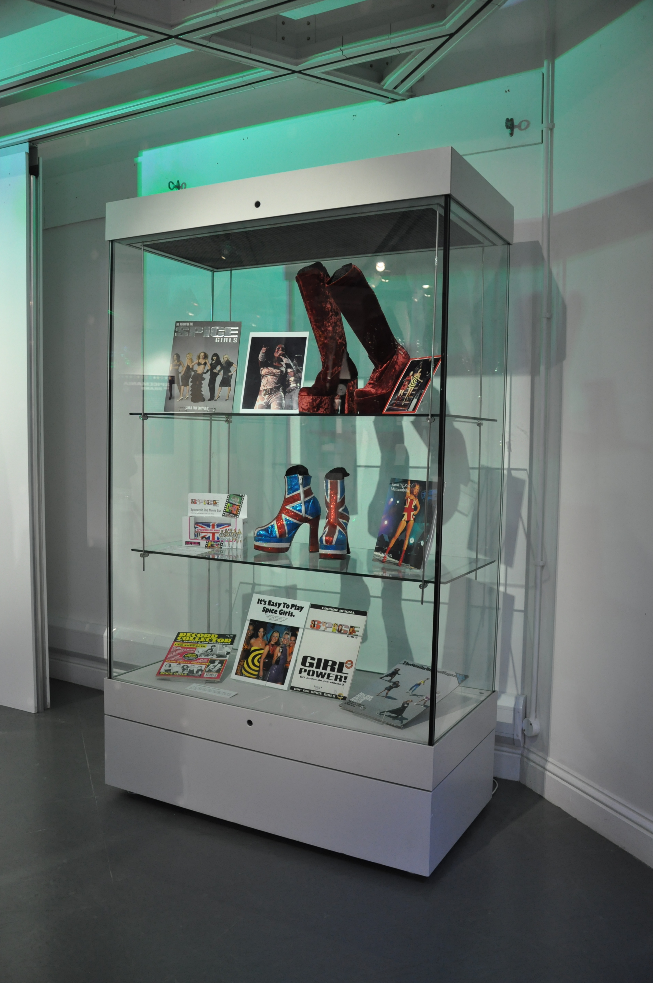 25. Spiceworld The Exhibition, Derry Londonderry, August - October 2012.JPG
