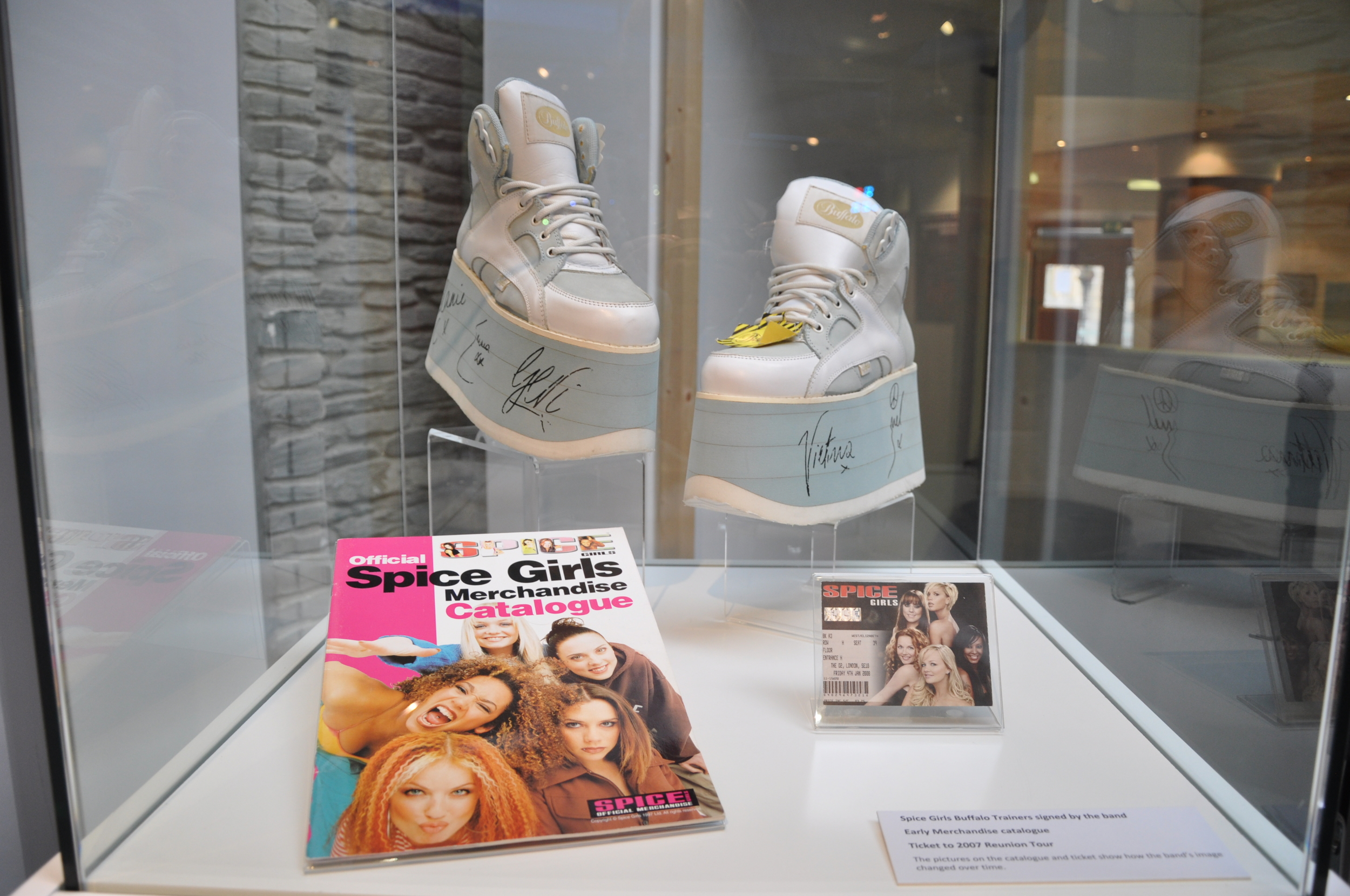 32. Spiceworld The Exhibition, Derry Londonderry, August - October 2012.JPG