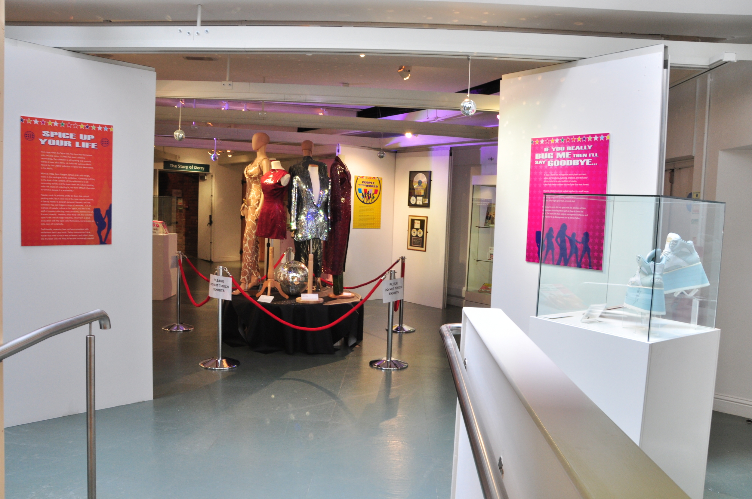 43. Spiceworld The Exhibition, Derry Londonderry, August - October 2012.JPG