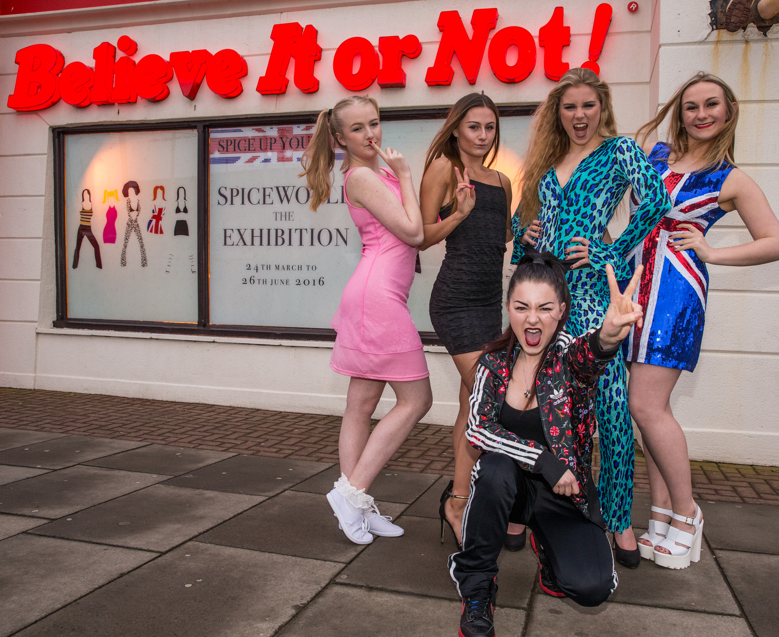 2. Spice Girls Exhibition at Ripley's Blackpool. Photo Credit - Steve Lee, 2016.jpg