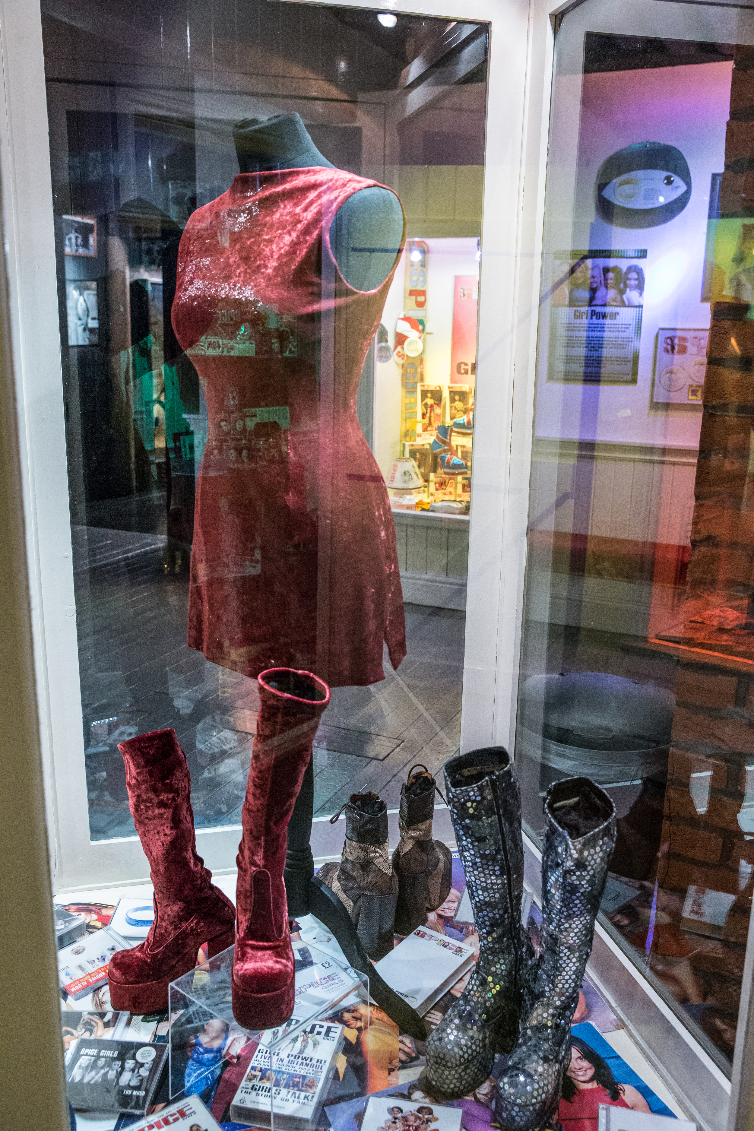 19. Spice Girls Exhibition at Ripley's Blackpool. Photo Credit - Steve Lee, 2016.jpg