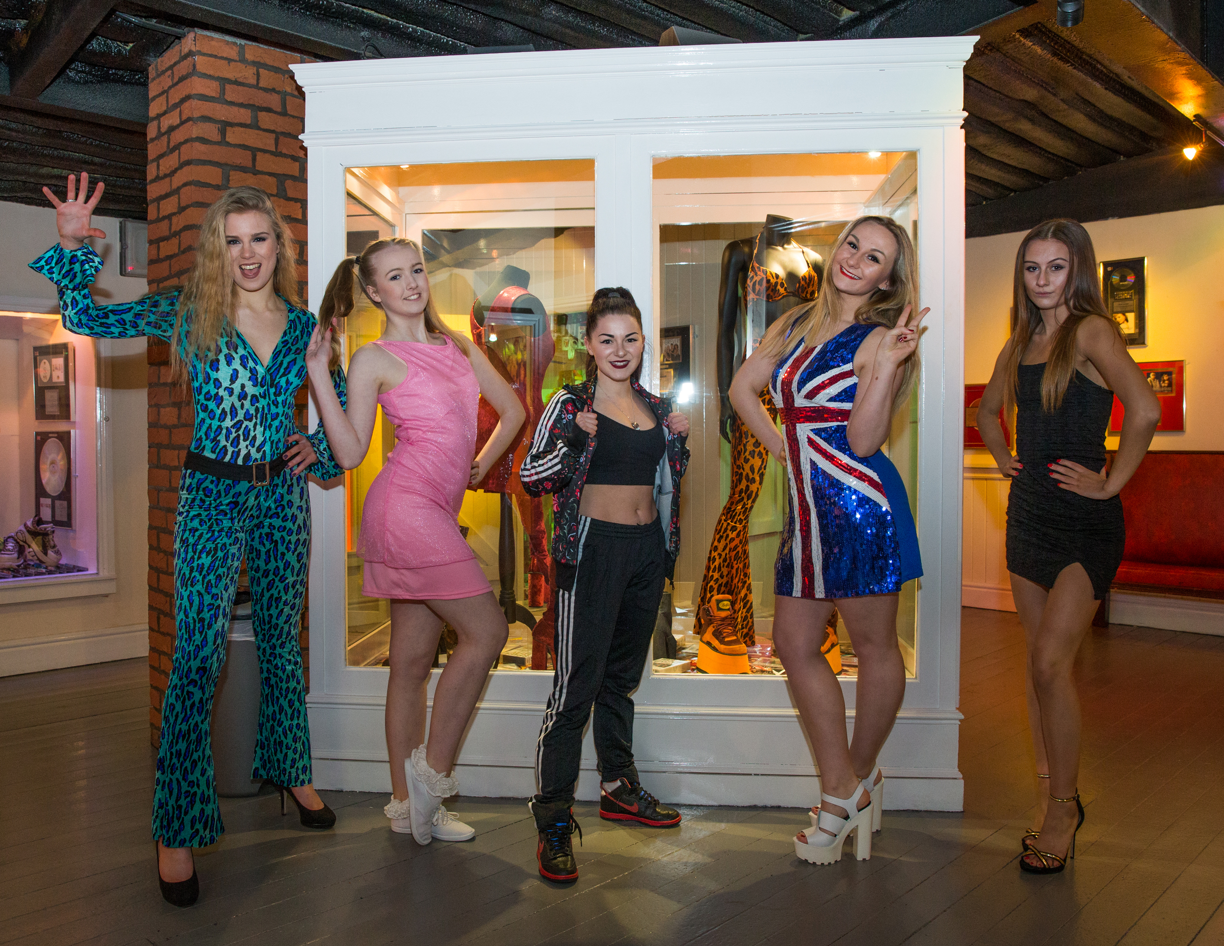 36. Spice Girls Exhibition at Ripley's Blackpool. Photo Credit - Steve Lee, 2016.jpg
