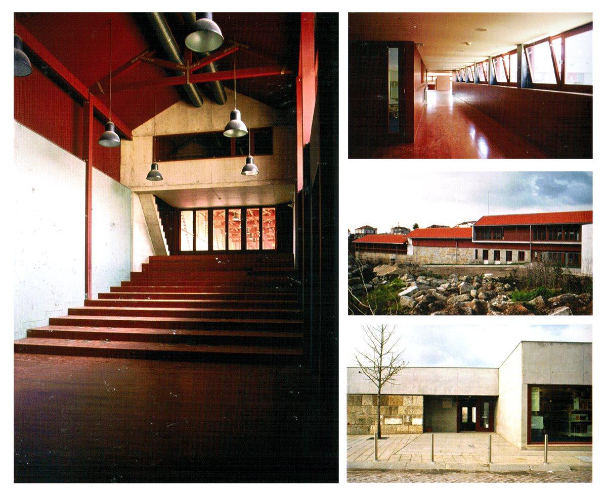 Complexo Multifuncional de Couros, Guimarães, Portugal, 1999-2003, Nuno Teotónio Pereira, Pedro Viana Botelho, Maria do Rosário Beija