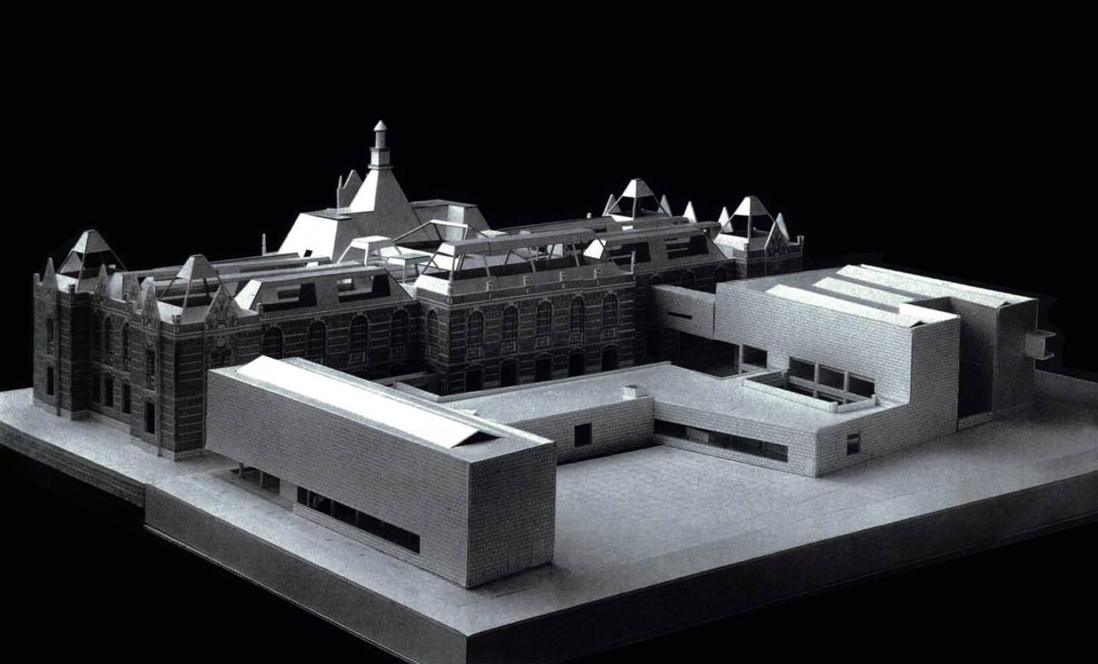 Extension to Stedelijk Museum, Amsterdam, Netherlands, 1995   Álvaro Siza