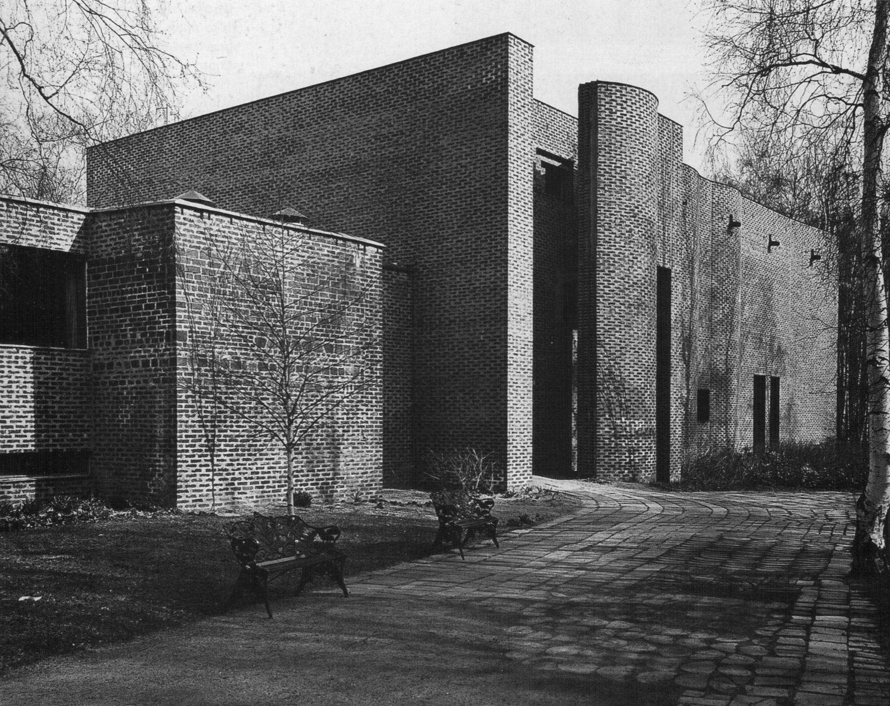 St Mark's Parish Church, Björkhagen, Stockholm, Sweden, 1956-64   Sigurd Lewerentz