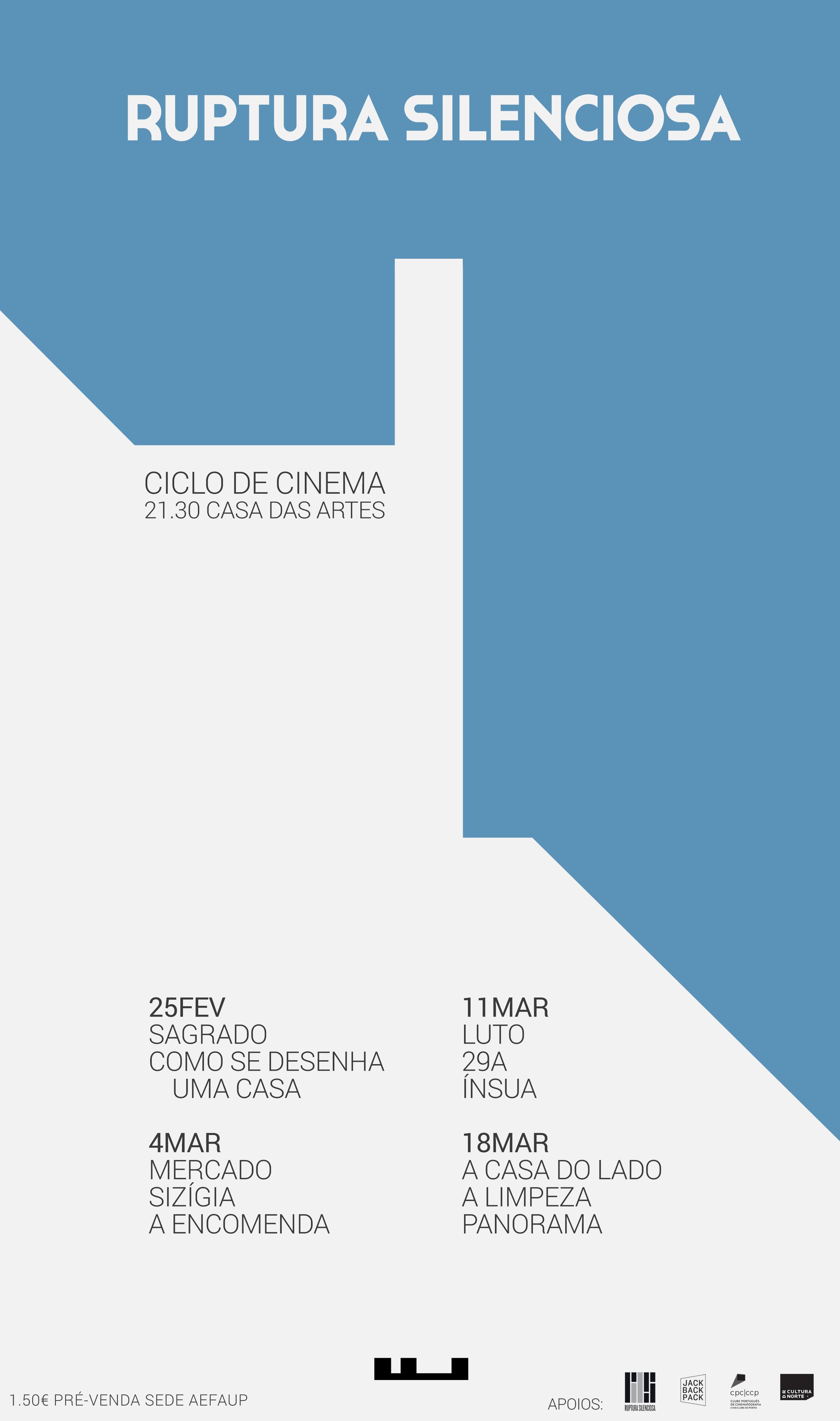 Ciclo de Cinema Ruptura Silenciosa