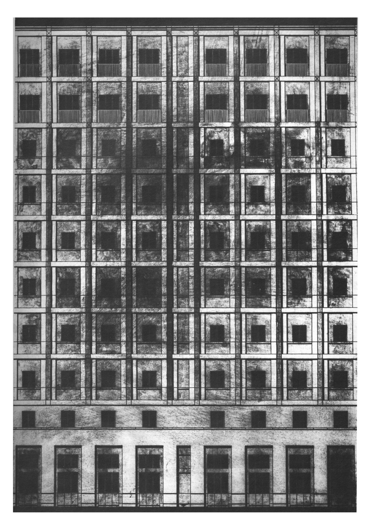Project for Lungotevere Flaminio and Piazza Mancini Dario Passi 1981.jpg