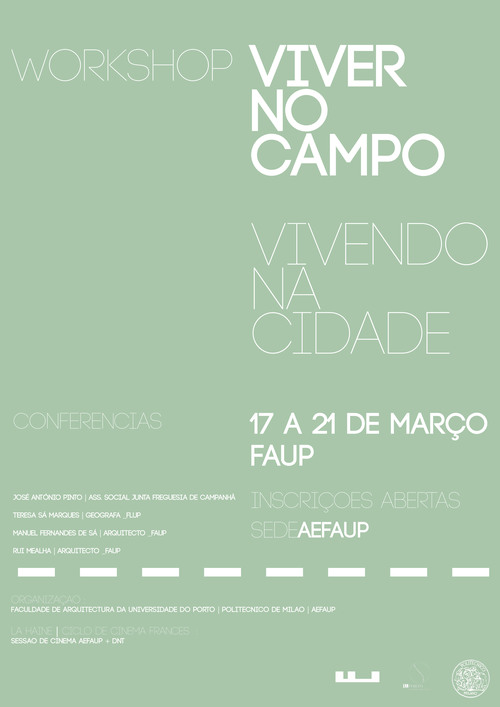 Workshop Viver no Campo