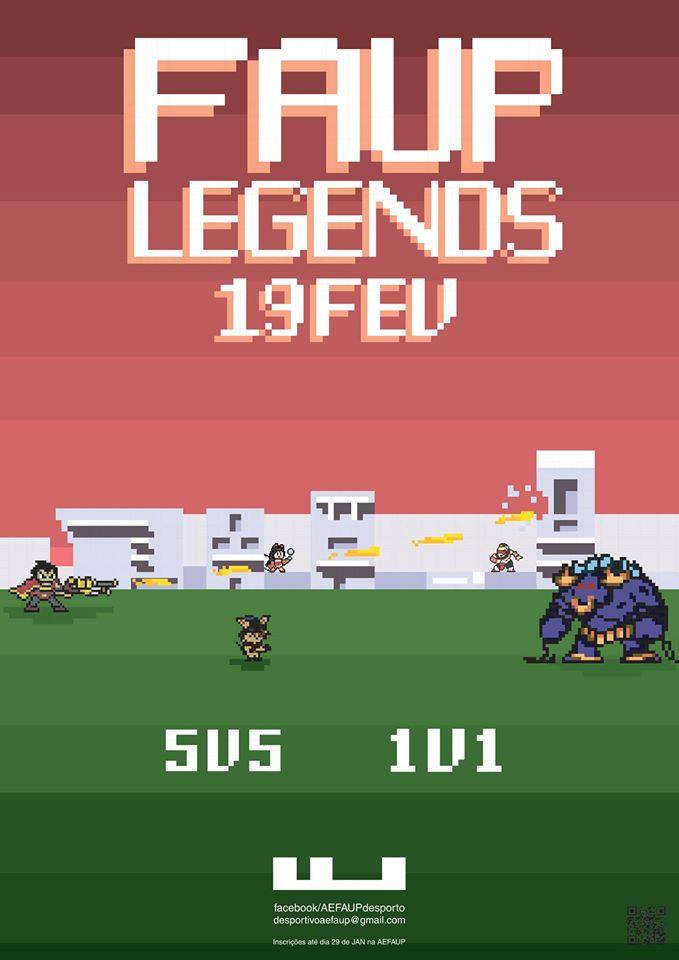FAUP Legends - Torneio de LOL