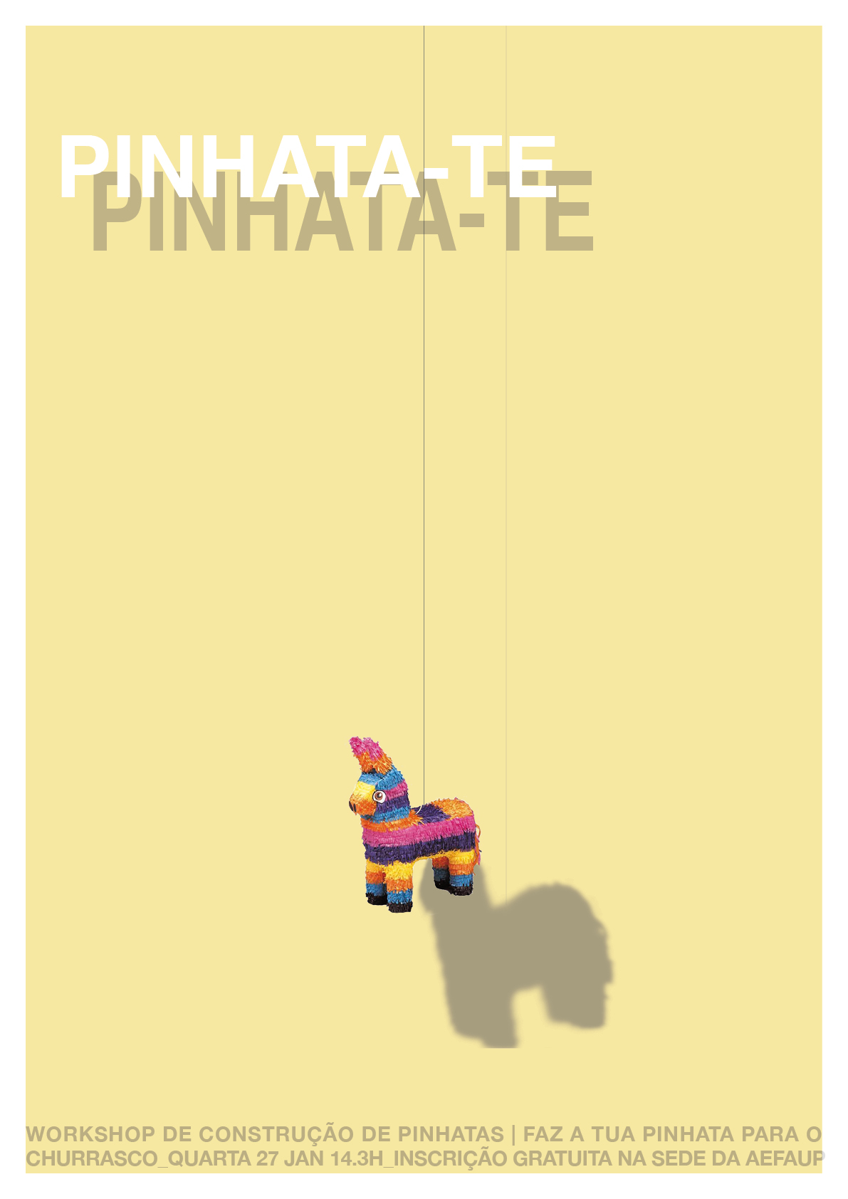Workshop de Pinhatas