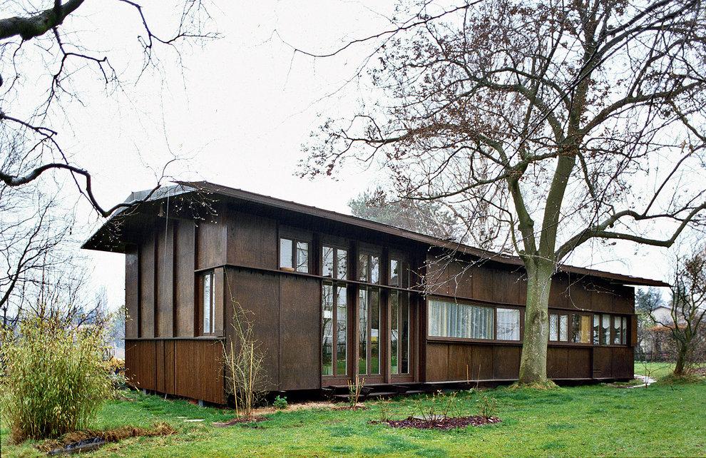 Sperrholzhaus, Bottmingen CH, Foto 1989