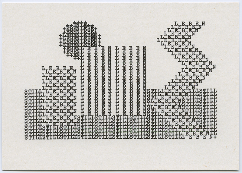 Still Leben II , 1970's