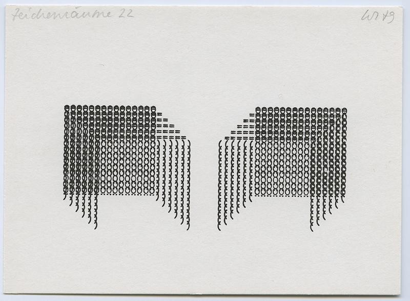 Zeichenreaum, 1970's
