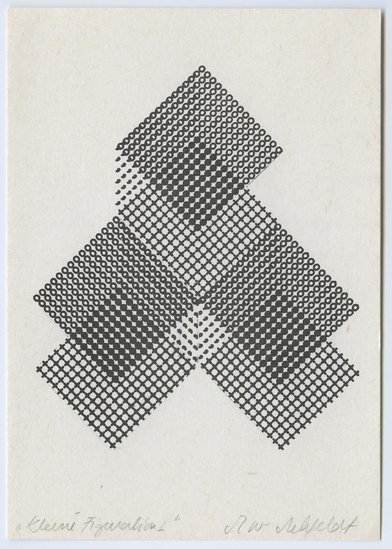 Kleine Figuratione 1 und 2,  1970's