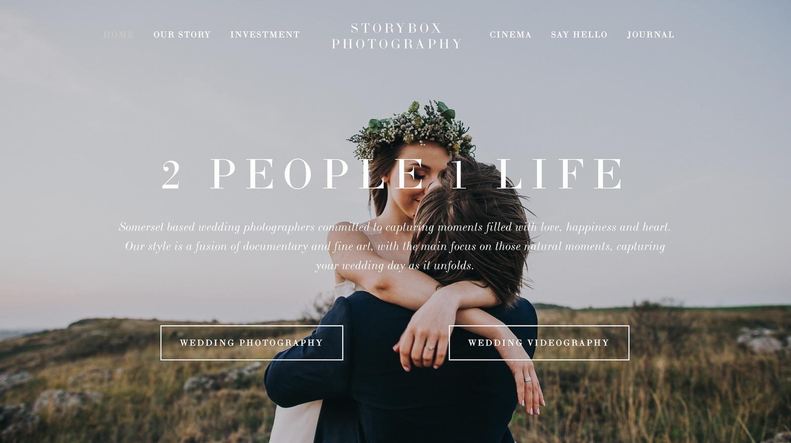 Storybox Photography Website