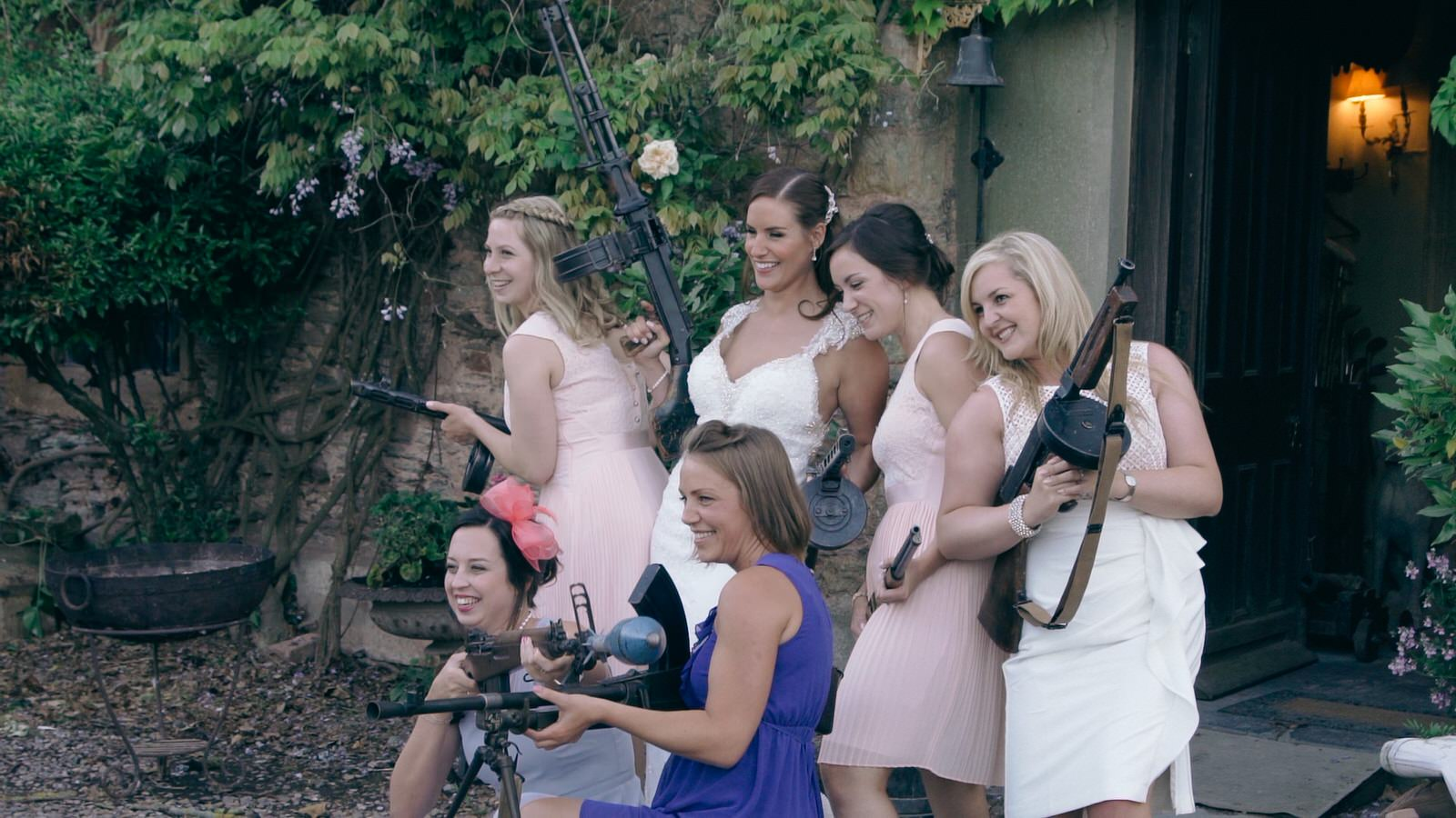Maunsel House Wedding Filming