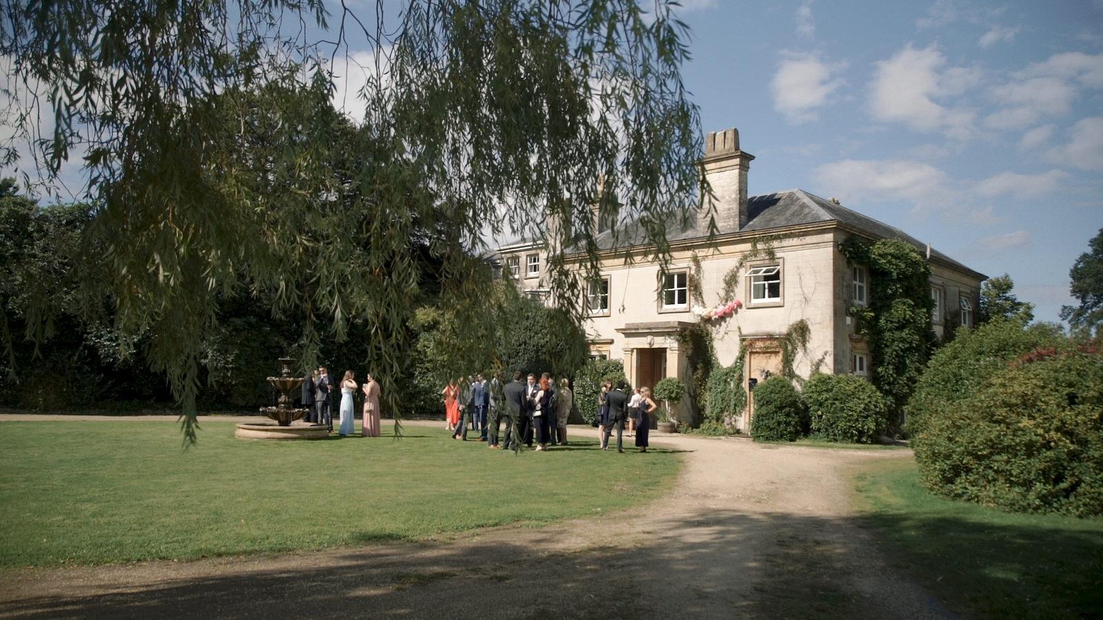 Sparkford Hall Wedding Videographer