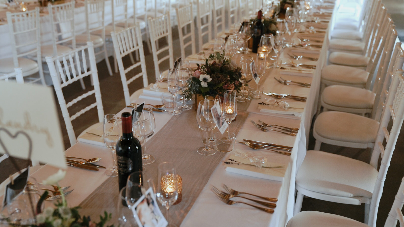beautiful wedding table decor