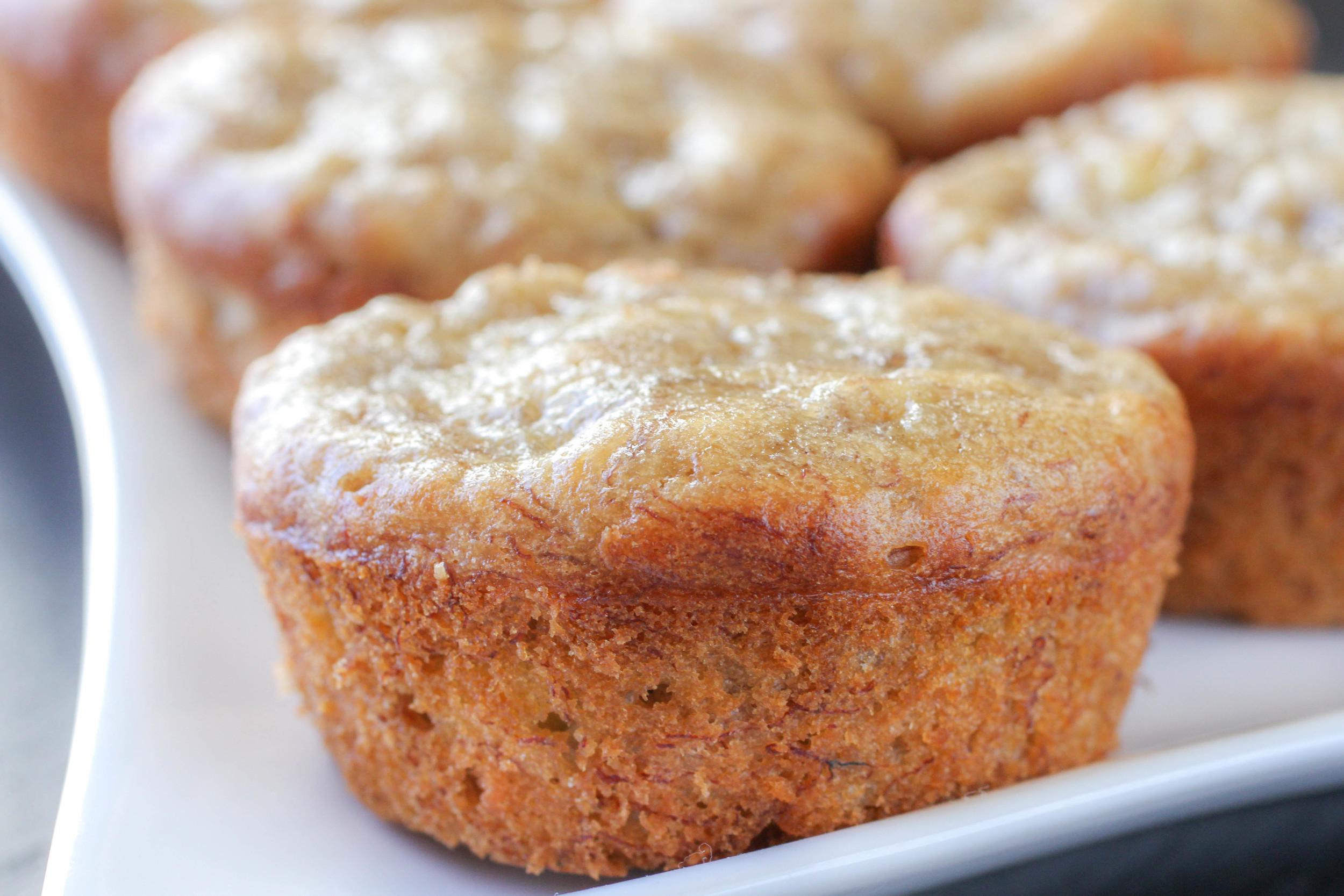 Super moist banana muffins