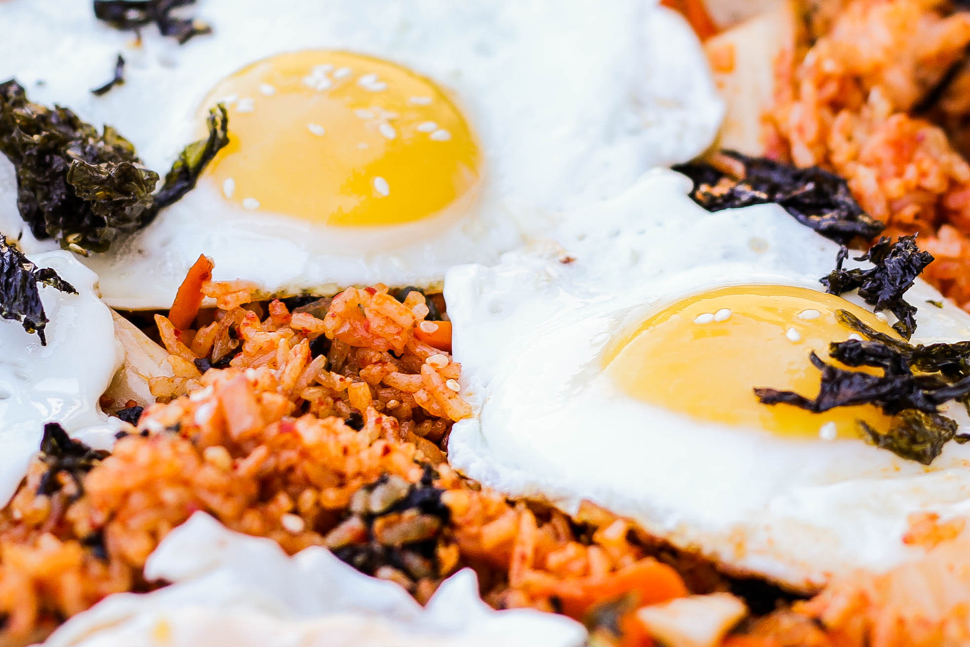 fried-eggs-kimchi-fried-rice