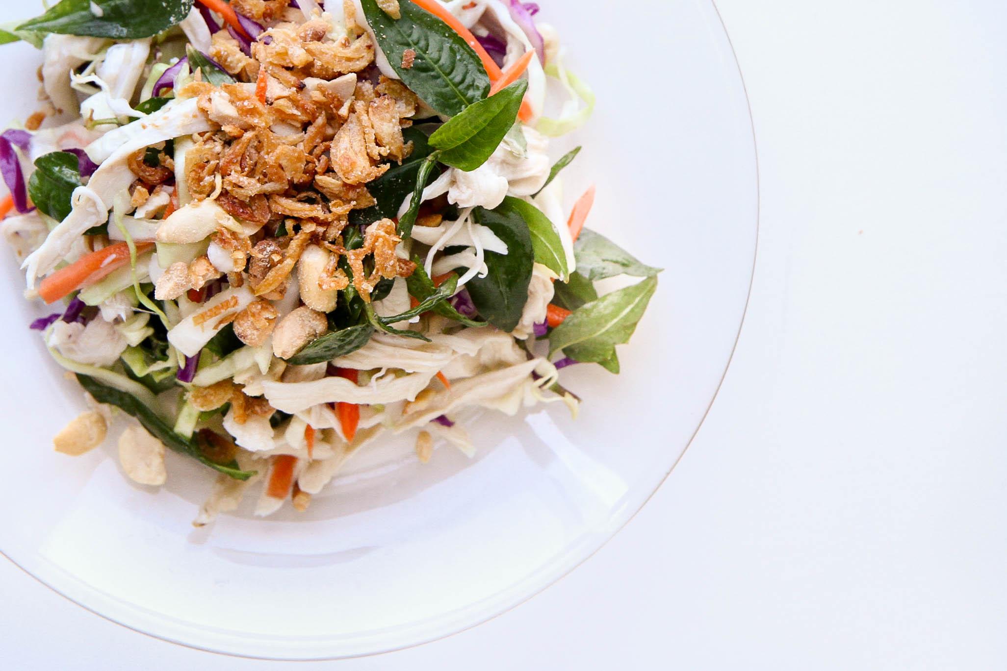 Vietnamese Chicken Salad (Gỏi Gà Bắp Cải)