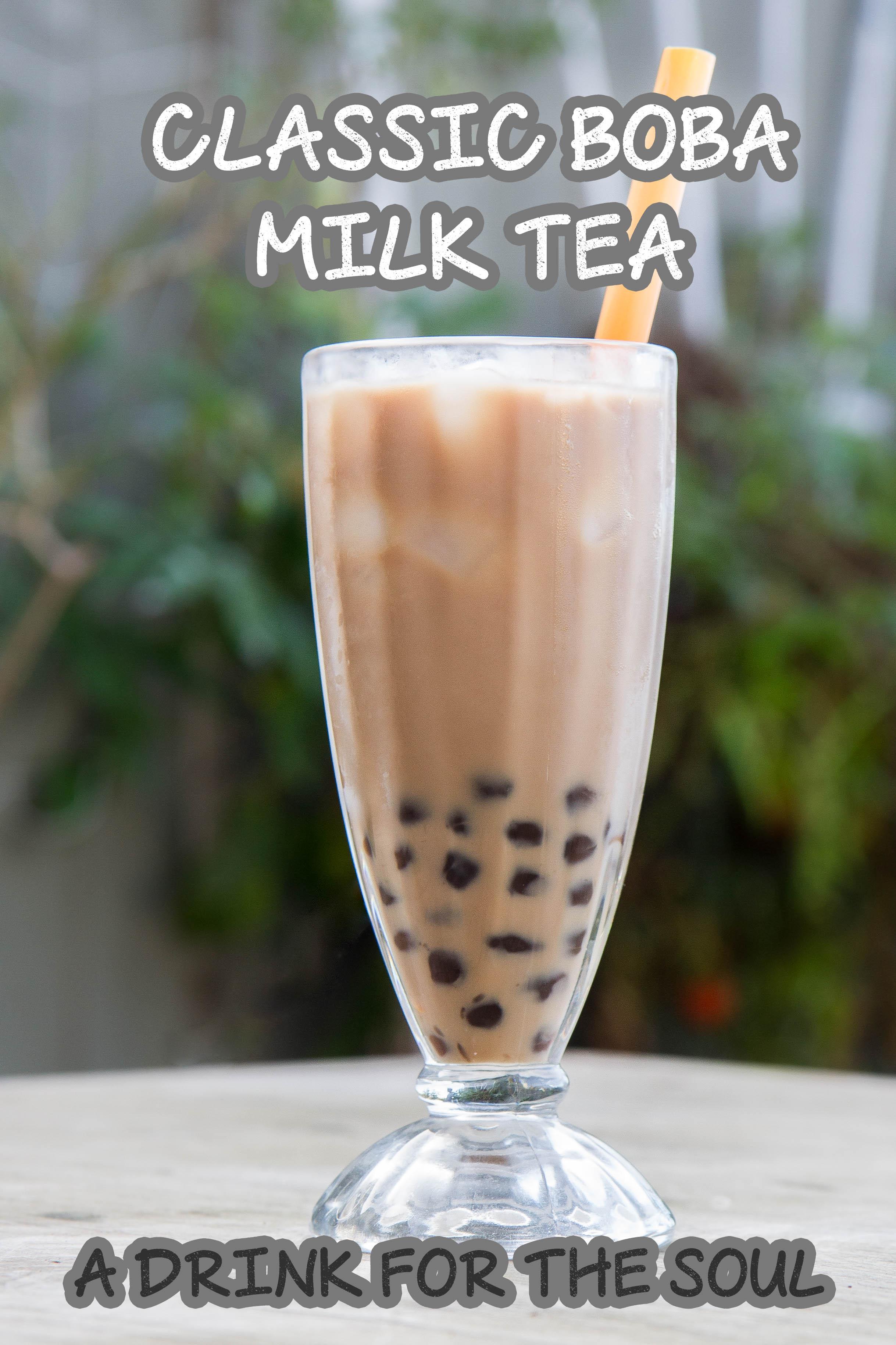 Classic Boba Milk Tea