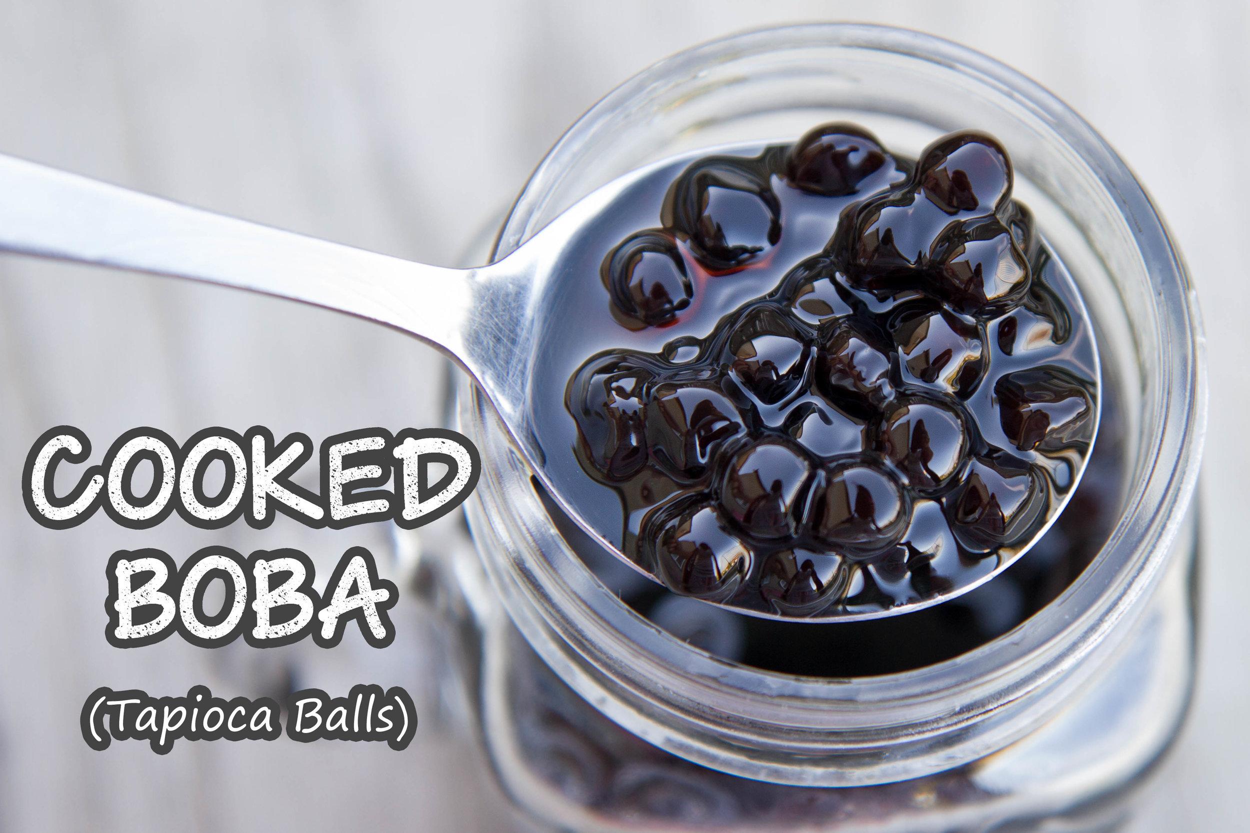Cooked Tapioca Balls (Boba)