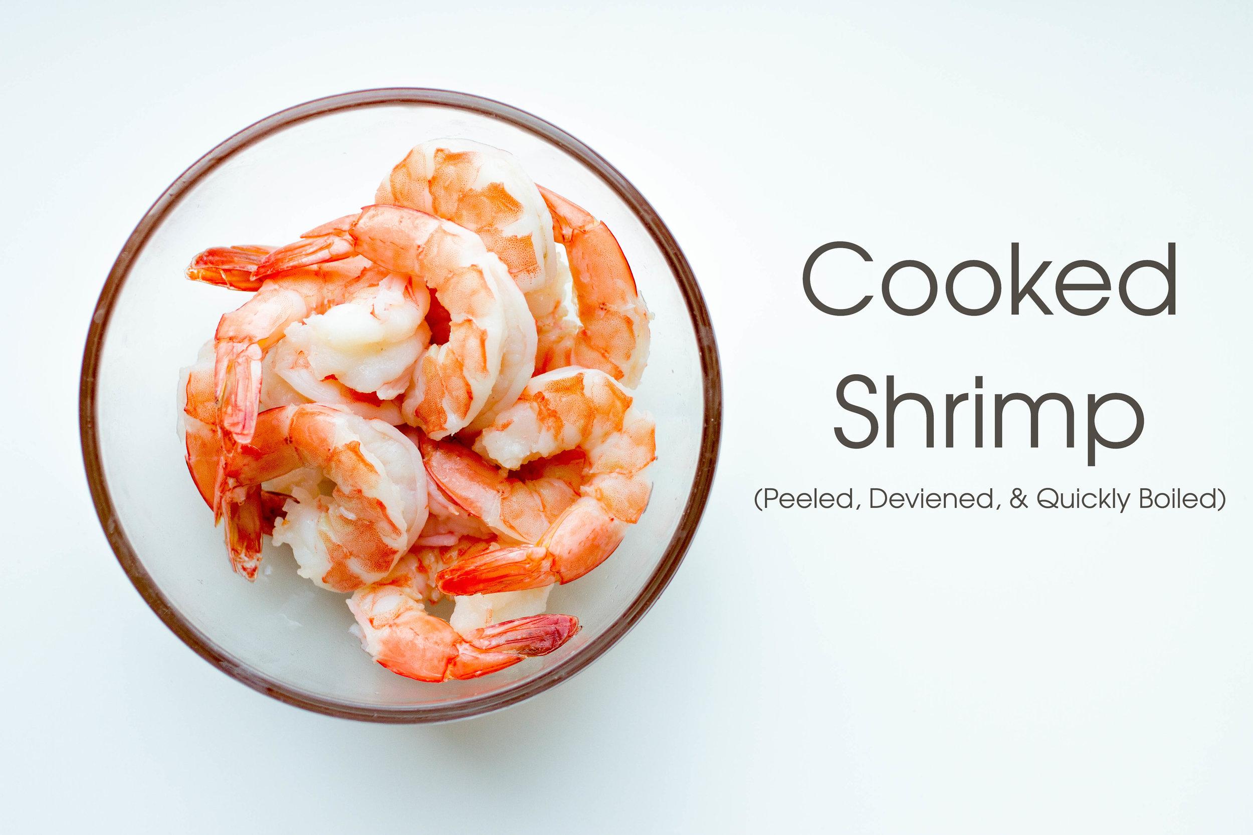 Gotta have boiled shrimp in  Hu Tieu