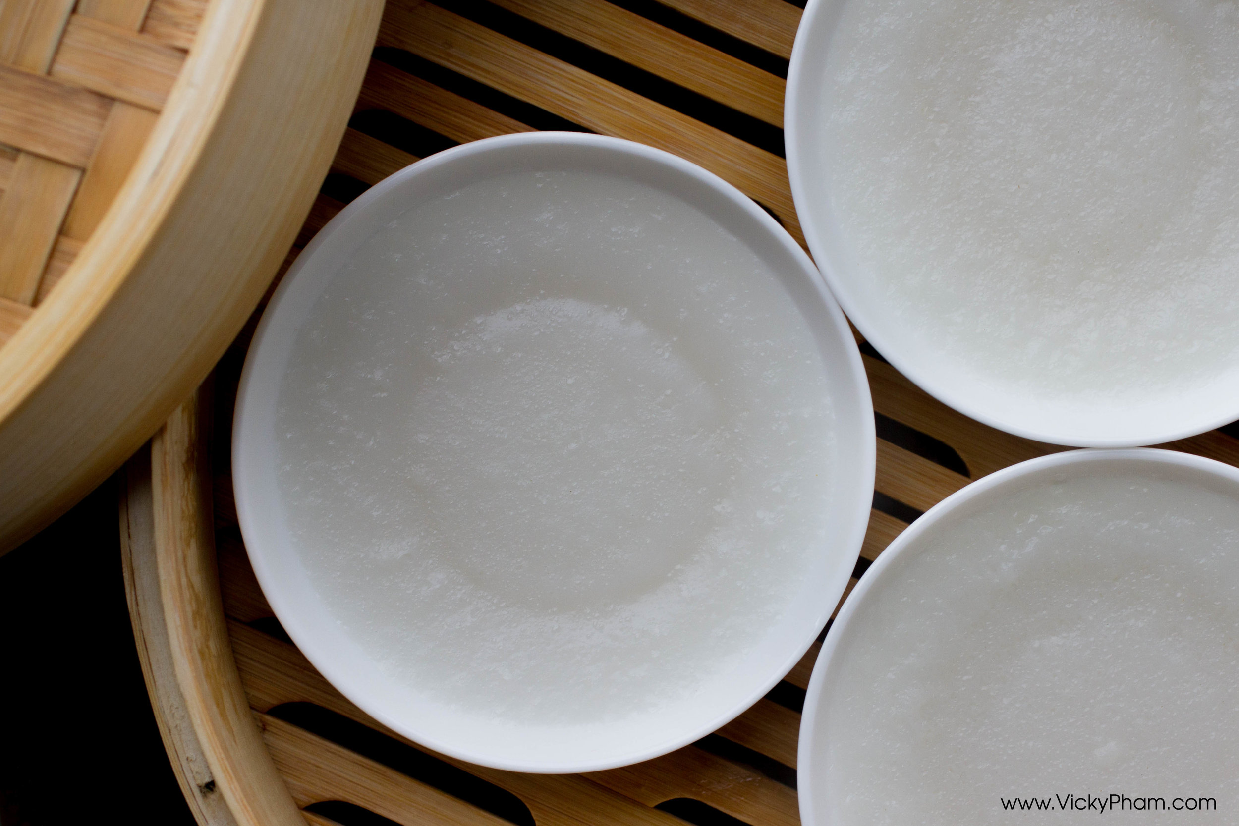 Vietnamese Steamed Rice Cakes