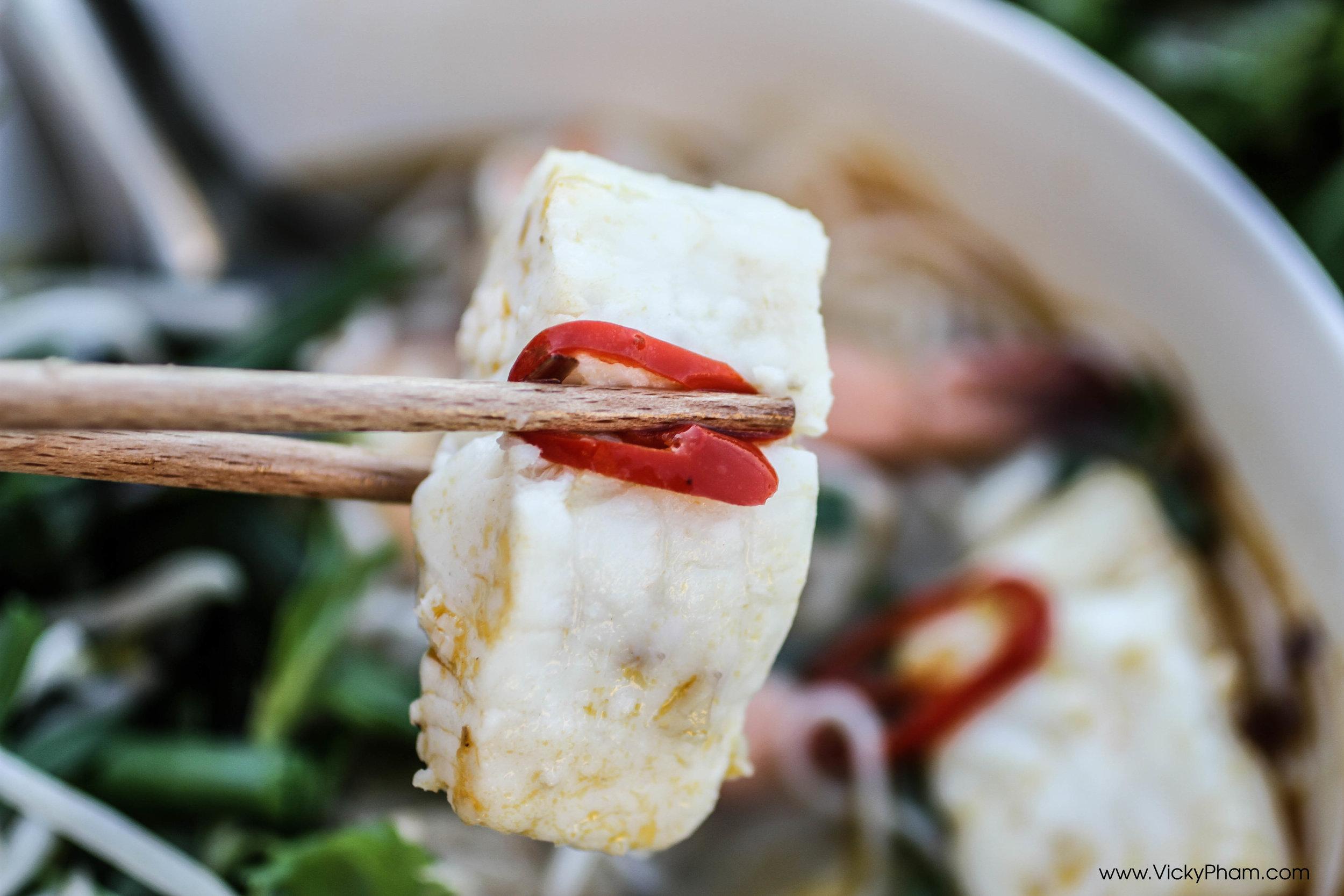 Vietnamese Fermented Fish & Seafood Vermicelli Soup Recipe (Bún Mắm)